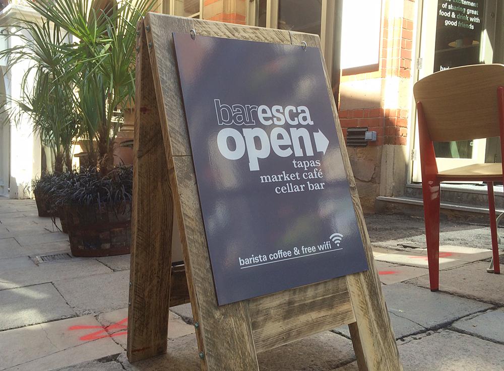 nottingham tapas restaurant creative design
