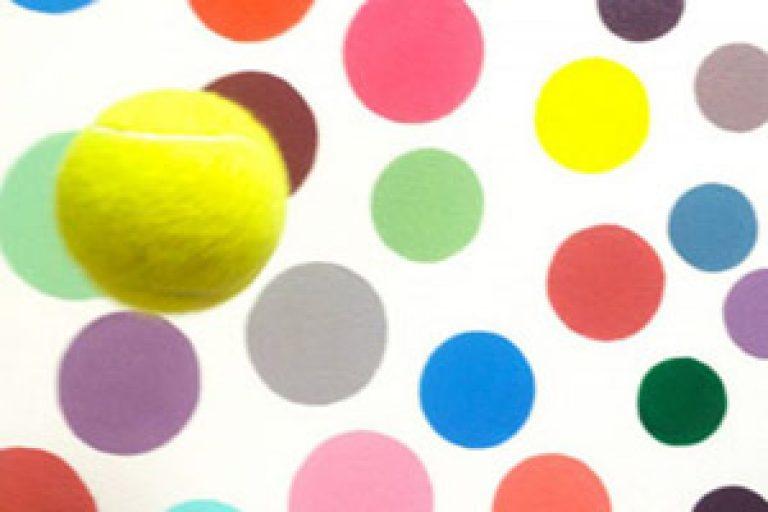 tennis ball spots