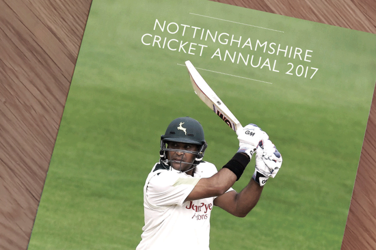 Nottinghamshire CCC Annual 2017 STENCIL