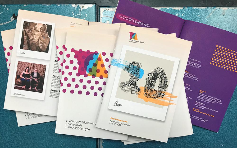 young creative awards programme design