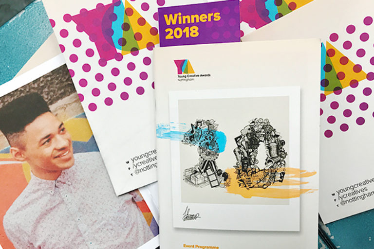 Young Creative Awards Programme Design