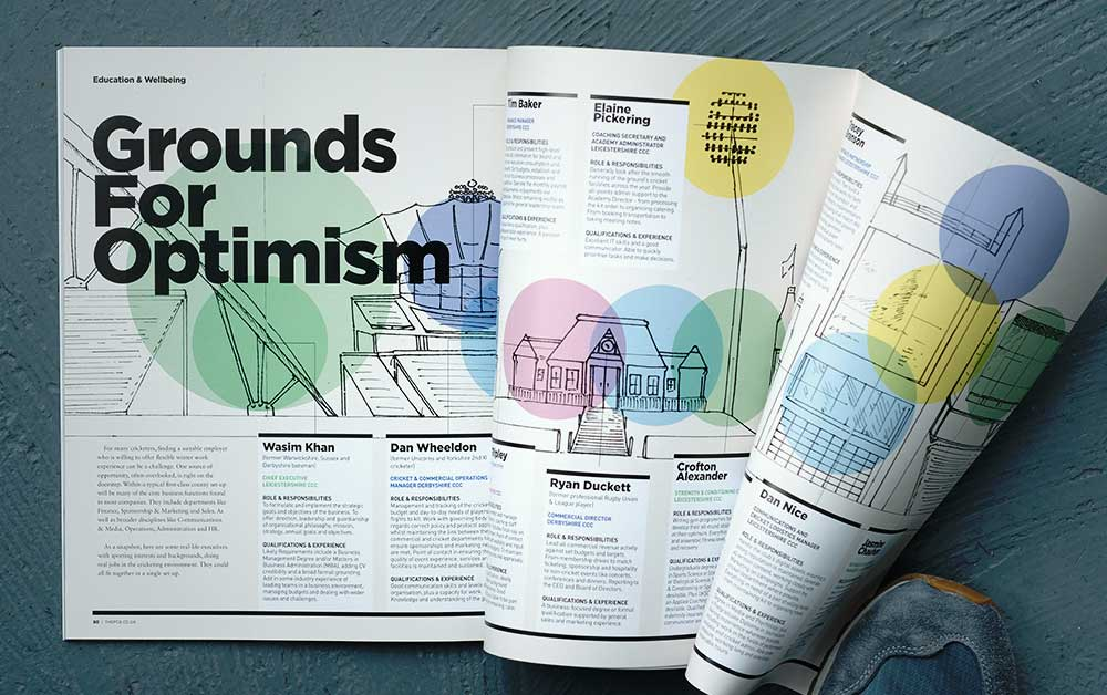 PCA BtB Beyond The Boundaries Magazine design
