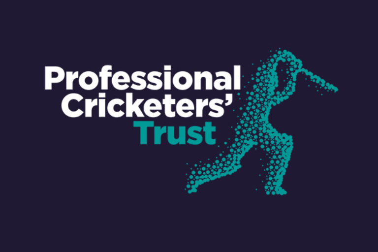 Professional Cricketers Trust advertising campaign charity graphic design posters print digital artwork STENCIL PCA