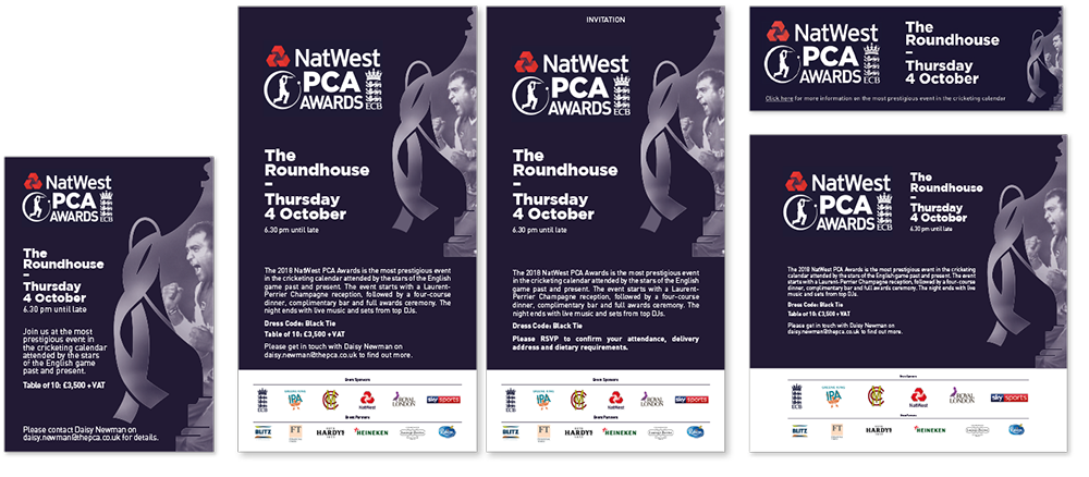NatWest PCA Awards design STENCIL print signage social programme